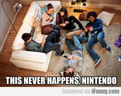 This Never Happens Nintendo...