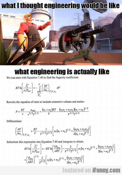 What I Thought Engineering Would Be Like...
