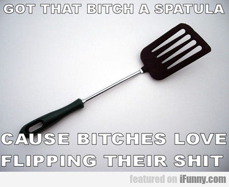 Got That Bitch A Spatula