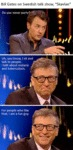 Bill Gates On Swedish Talk Show...
