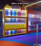 M&ms At The Cinema...
