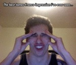 The Best James Franco Impression I've Ever Seen...