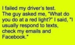 I Failed My Driver's Test. The Guy Asked Me...