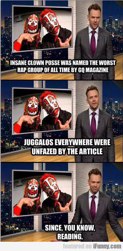 Insane Clown Posse Was Named...