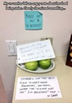 My Co-worker Left An Angry Note About Her Food...