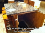 In The Kitchen Island...