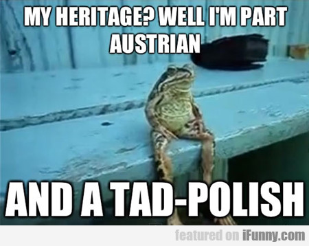 My Heritage? Well, I'm Part Austrian...