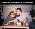 Saw This Baby Announcement Of Fb This...