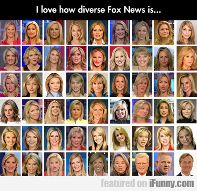 I Love How Diverse Fox News Is...