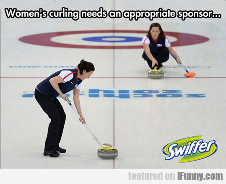 women's curling needs an appropriate...