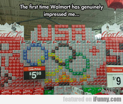 The First Time Wal-mart Has Genuinely Impressed...