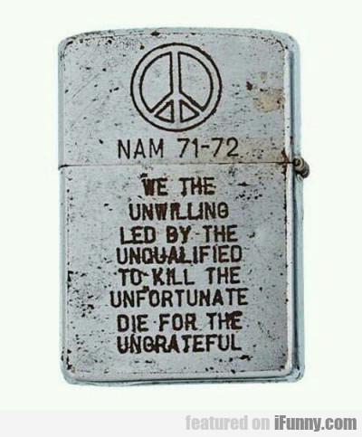 Nam 71-72 We The Unwilling