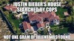 Justin Bieber's House Searched By Cops...