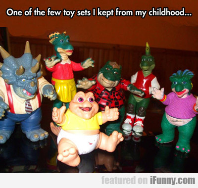 one of the few toy sets...