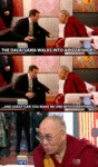 The Dalai Lama Walks Into A Pizza Shop...