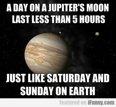 A Day On Jupiter's Moon..
