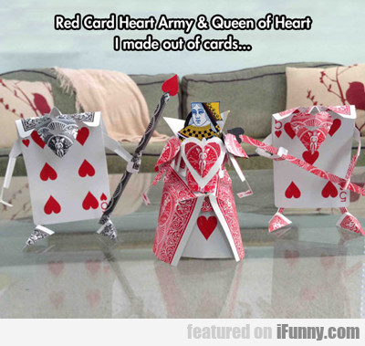 Red Card Heart Army...