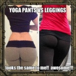 Yoga Pants Vs Leggings...