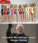 Welcome! We Wish You Happy Hunger Games...