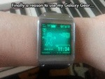 Finally A Reason To Use My Galaxy Gear...