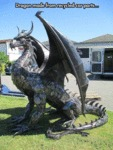 Dragon Made From Recycled Car Parts...