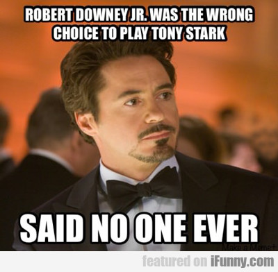 Robert Downey Jr Was The Wrong Choice To Play...