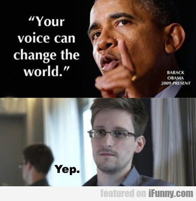 Your Voice Can Change The World...