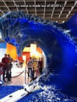 This Wave Is Made Out Of Lego's...