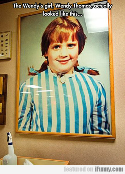 the wendy's girl, wendy thomas...