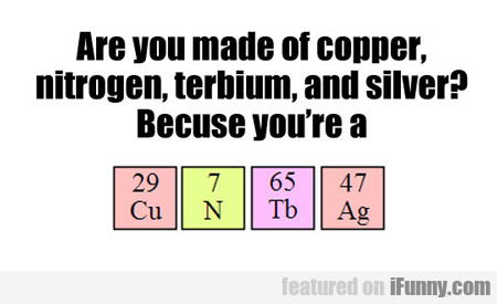 Are You Made Of Copper...
