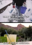 Salt Use In Most Of The Country...