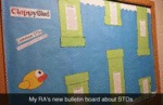My Ra's New Bulletin Board About Std's...