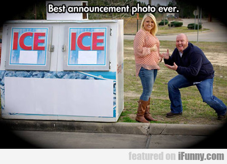 Best Announcement Photo Ever...