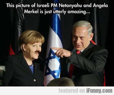 This Picture Of Israeli Pm...