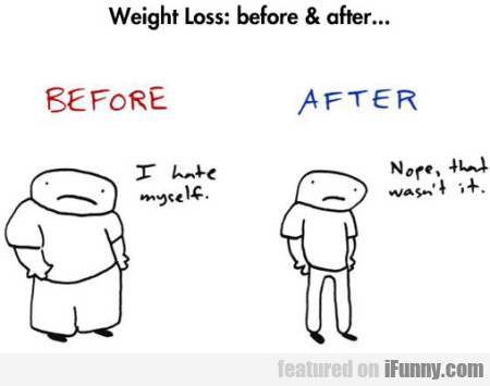 Weight Loss: Before And After