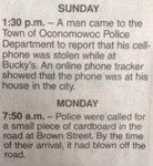 Sunday 1:30 Pm - A Man Came To The Town Of..