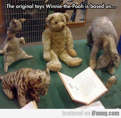 The Original Winnie The Pooh Is Based On...