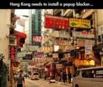 Hong Kong Need To Install A Pop Up Blocker...