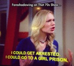 Foreshadowing On That 70's Show...