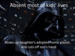 Absent Most Of Kids' Lives...