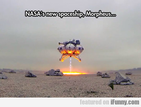 Nasa's New Space Ship...