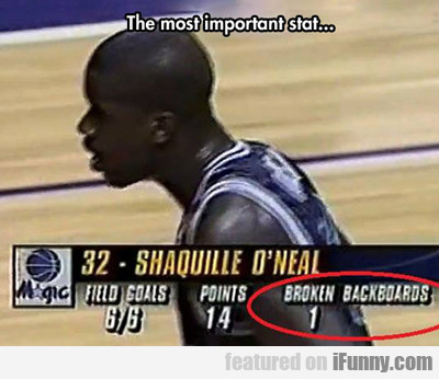 The Most Important Stat...