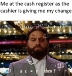 Me At The Cash Register As...