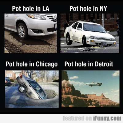Pot Hole In La...