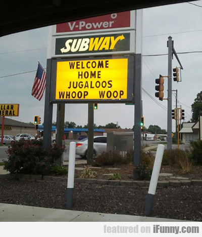 Welcome Home Juggalos, Whoop Whoop...