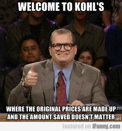 Welcome To Kohl's...