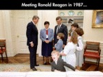 Meeting Ronald Reagan In...