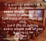 If A Gunman Comes To Your Classroom