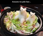 Awesome Rice Polar Bear...