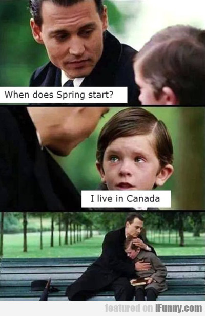 When Does Spring Start...